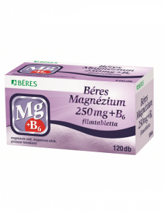 Béres Magnézium 250mg+B6...