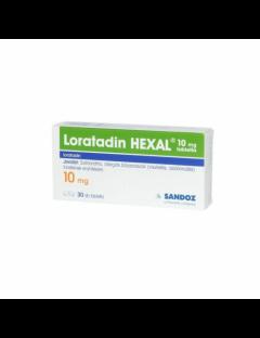 Loratadin Hexal 10Mg Tabletta