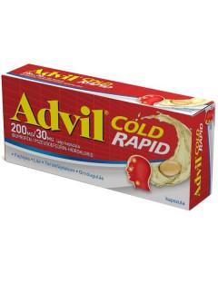 Advil Cold Rapid 200mg/30mg...