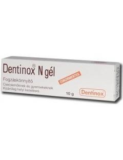 Dentinox fogínygél...