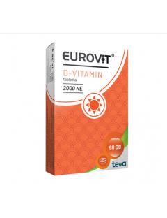 Eurovit D vitamin 2000NE...