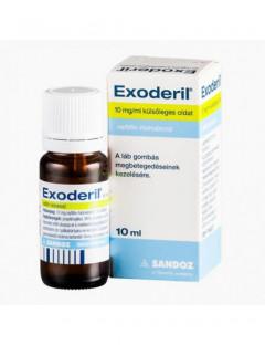 Exoderil 10mg/g oldat