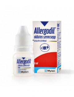 Allergodil szemcsepp