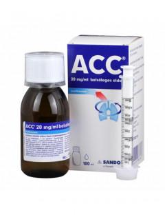 ACC  20 mg/ml belsőleges oldat
