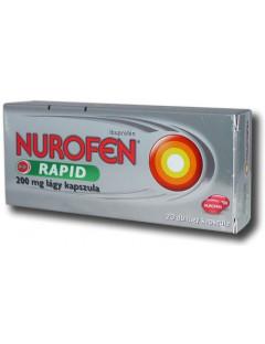 Nurofen Rapid 200 mg lágy...