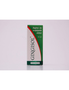 Gingisol fogínyecsetelő