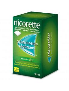 Nicorette Freshmint gum 4...