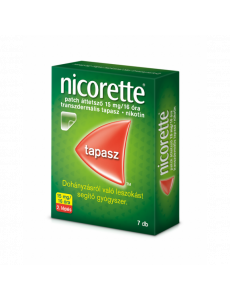 Nicorette patch áttetsző 15...