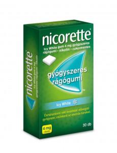 Nicorette Icy White gum 4mg...