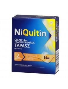 NiQuitin Tapasz Clear 14mg