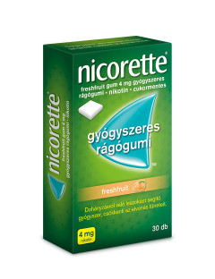Nicorette  freshfruit 4 mg...