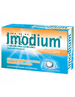 Imodium Instant szájban...