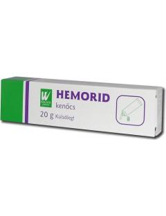 Hemorid kenőcs